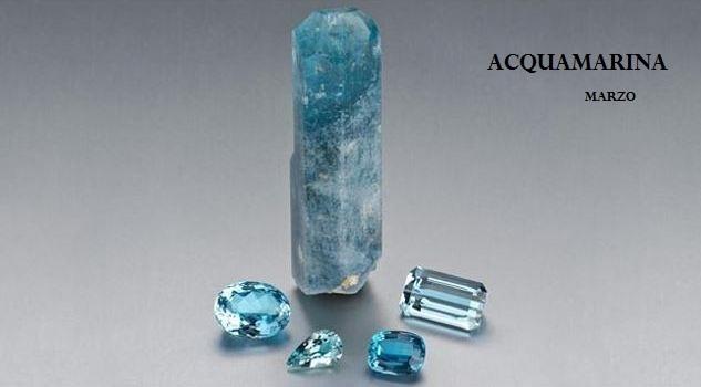 Le gemme e lo zodiaco - Marzo - Acquamarina