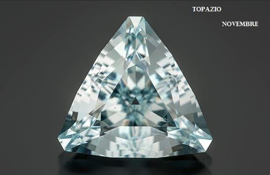 Le gemme e lo zodiaco - Novembre - Topazio