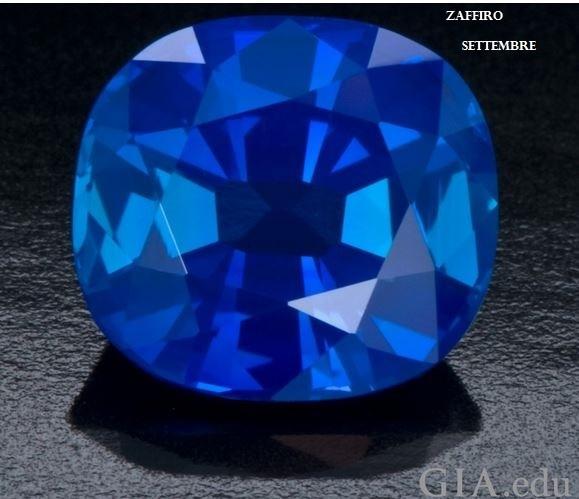 Le gemme e lo zodiaco - Settembre - Zaffiro
