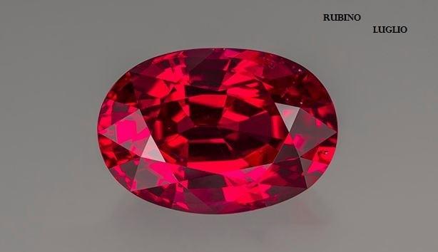 Le gemme e lo zodiaco - Luglio - Rubino