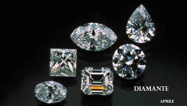 Le gemme e lo zodiaco - Aprile - Diamante