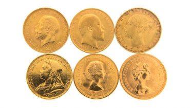 La sterlina d'oro