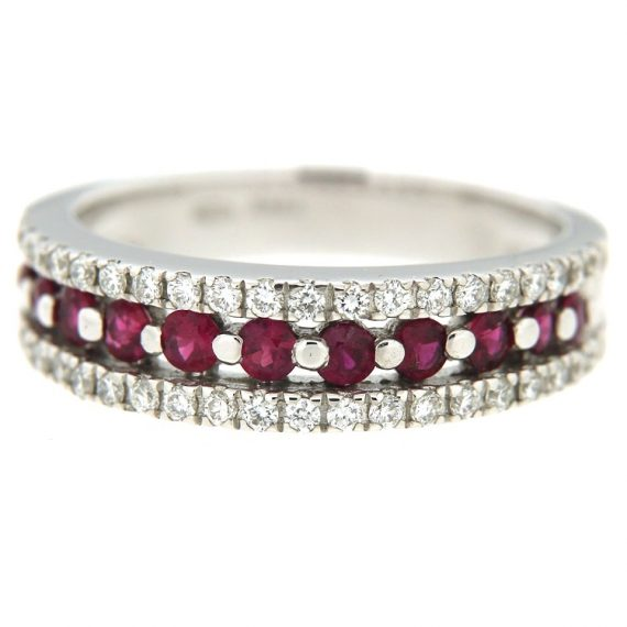 G1564-anello-oro-bianco-diamanti-brillanti-rubini-3