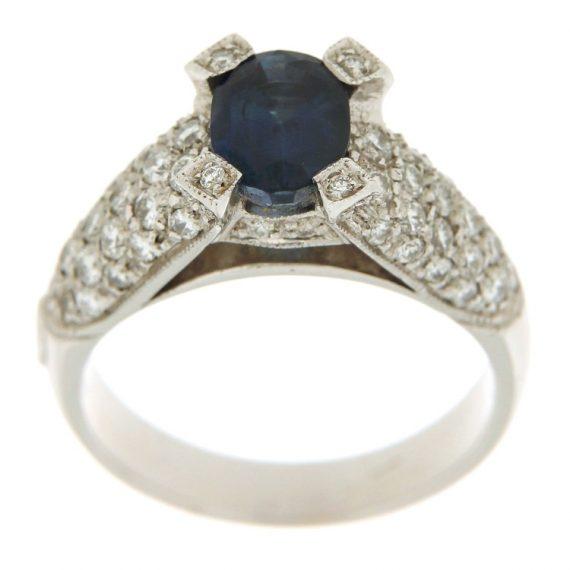 G1843-anello-oro-bianco-brillanti-diamanti-zaffiro-2