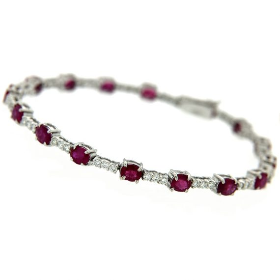 G599-tennis-bracciale-oro-bianco-diamanti-brillanti-rubini-1