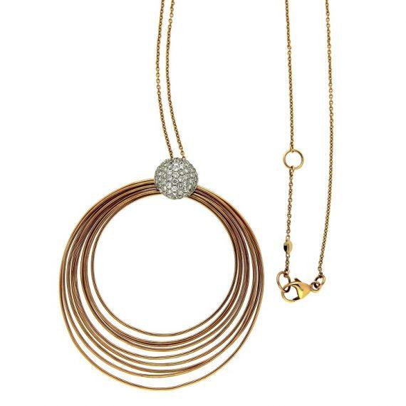 G1345-girocollo-kdikuore-oro-rosa-diamanti-brillanti
