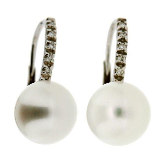 G1807-Orecchini-oro-bianco-diamanti-brillanti-perle-australiane-1