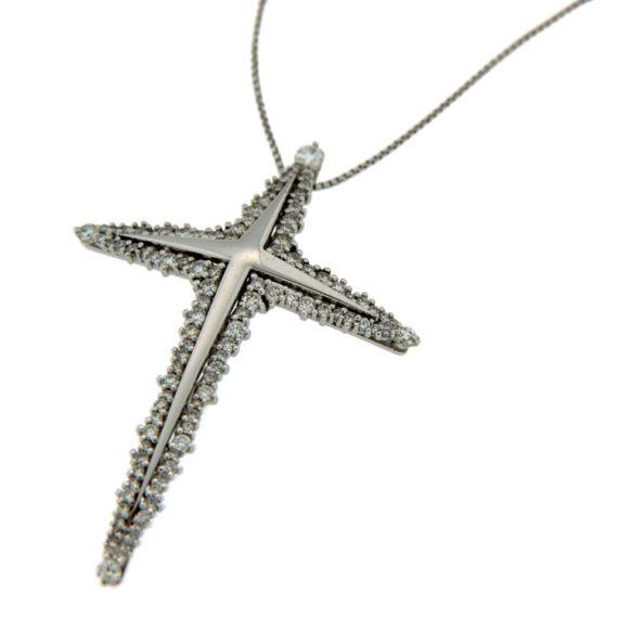 G199-girocollo-ciondolo-croce-oro-bianco-diamanti-brillanti-DonnaOro