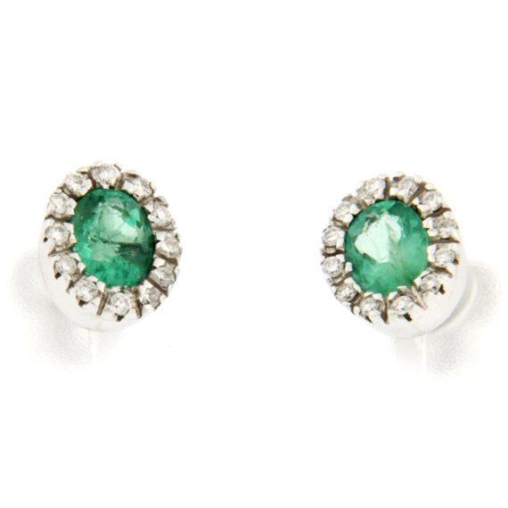 G1305-orecchini-oro-bianco-brillanti-diamanti-smeraldi