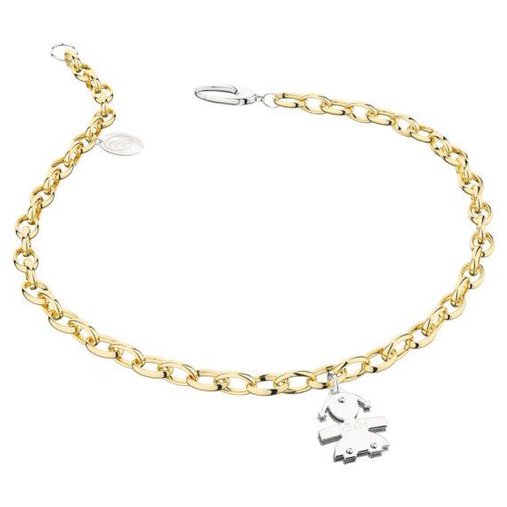 G163-bracciale-lebebe-oro-giallo-bianco-femminuccia
