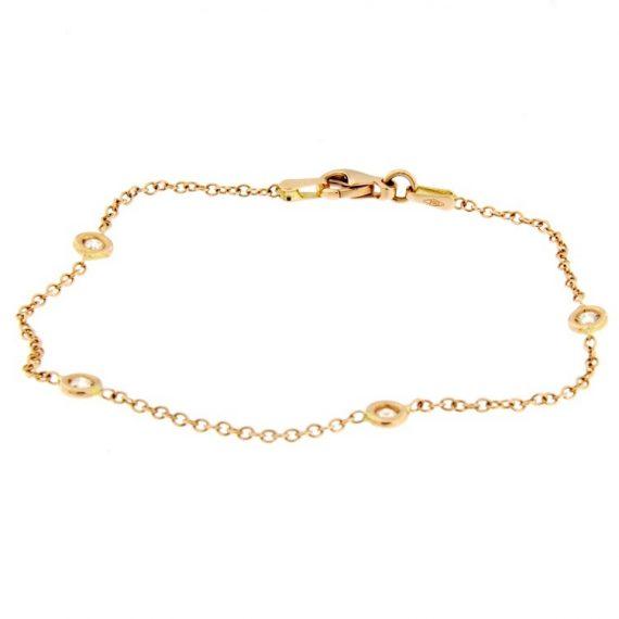 G1989-bracciale-oro-rosa-diamanti-brillanti-modello-Tiffany-1