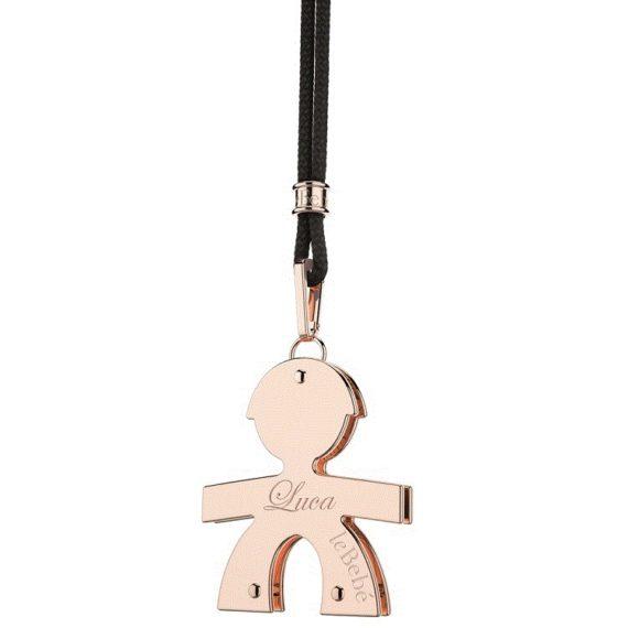 G57-ciondolo-piccolo-lebebé-maschietto-oro-rosa