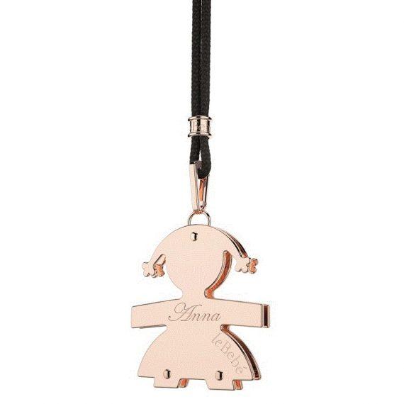 G60-ciondolo-piccolo-lebebé-femminuccia-oro-rosa