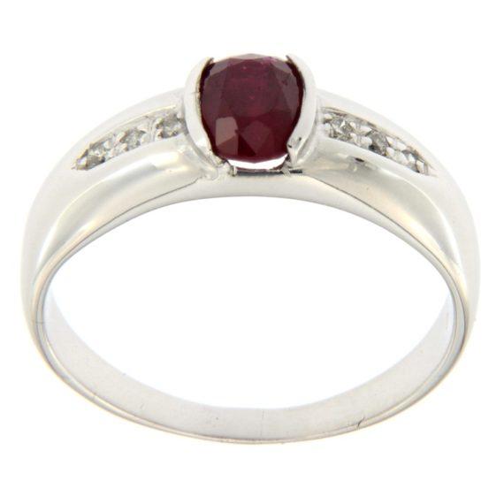 G2044-anello-oro-bianco-diamanti-brillanti-rubino