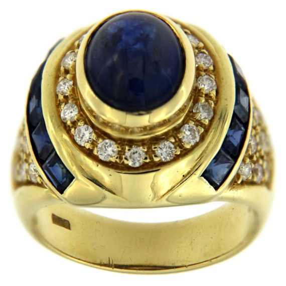 G2083-anello-oro-giallo-diamanti-brillanti-zaffiri