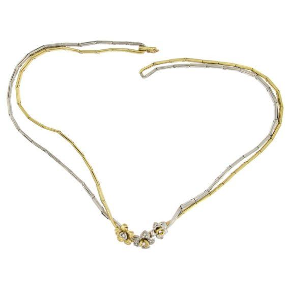 G2113-girocollo-oro-giallo-bianco-fiori-diamanti