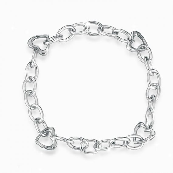 bracciale-lock-your-love-argento-oro