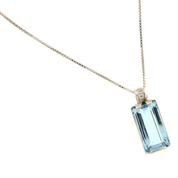G2189-Girocollo-oro-bianco-acquamarina-diamanti-brillanti-ciondolo