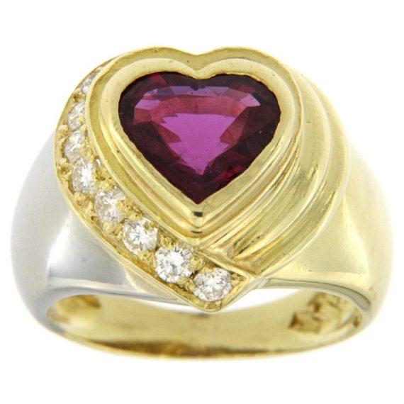 G2209-anello-oro-diamanti-brillanti-rubino-cuore