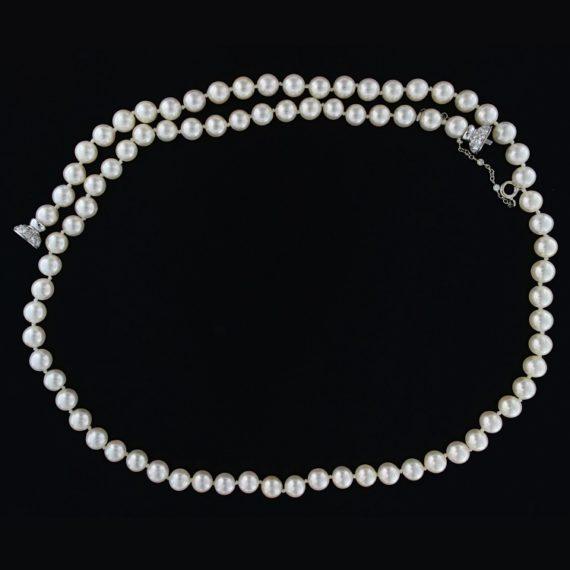 G2217-collana-perle-giapponesi-oro-diamanti-brillanti