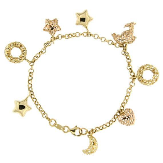 G2231-bracciale-charms-oro-giallo