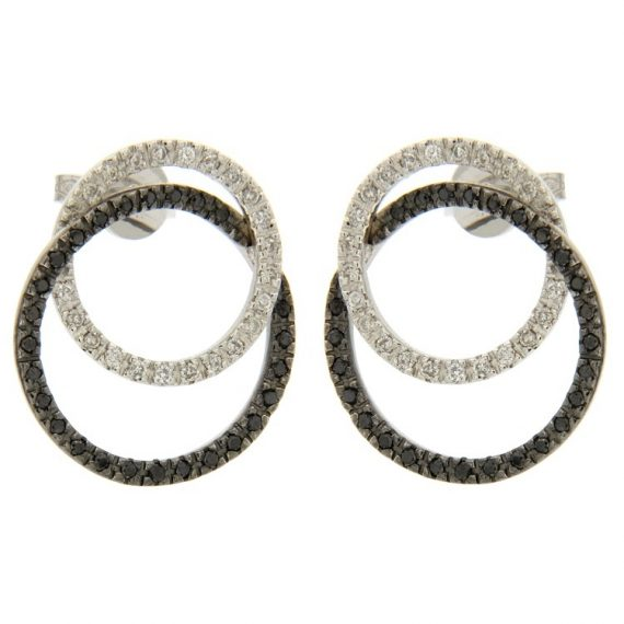 G2252-white-gold-earrings-with-black-and-white-diamonds