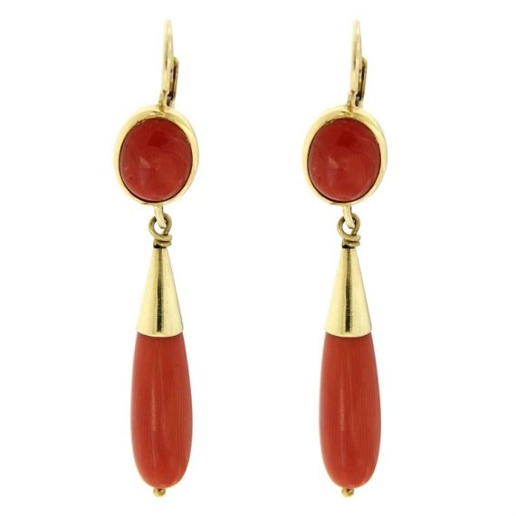 G2254-yellow-gold-pendant-earrings-with-coral