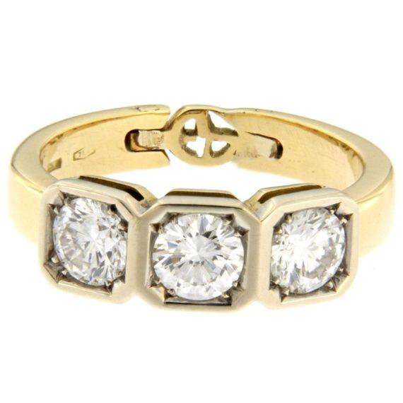 G2259-anello-trilogy-vintage-oro-bianco-giallo-diamanti-brillanti-1