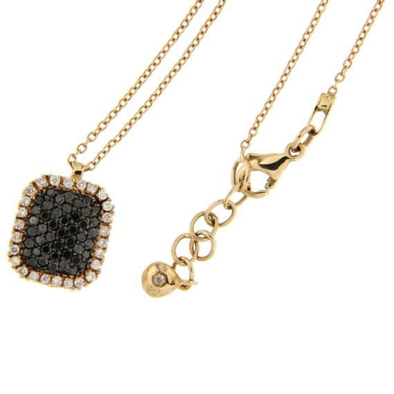 G2267-pink-gold-necklace-with-black-and-white-diamonds