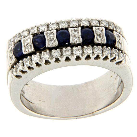 G2284-anello-oro-bianco-diamanti-brillanti-zaffiri-2