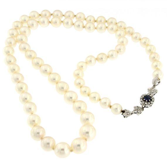 G2285-collana-perle-oro-bianco-diamanti-brillanti-zaffiro-1