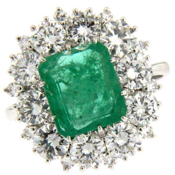 G2295-anello-oro-bianco-brillanti-diamanti-smeraldo
