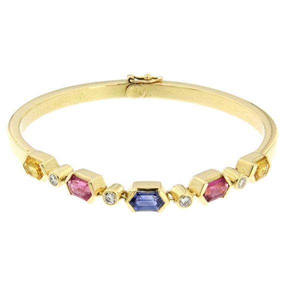 G2297-bracciale-oro-giallo-diamanti-brillanti-corindoni-zaffiri