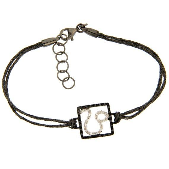 G2299-bracciale-oro-bianco-brillanti-diamanti-argento-segno-zodiacale-leone-1