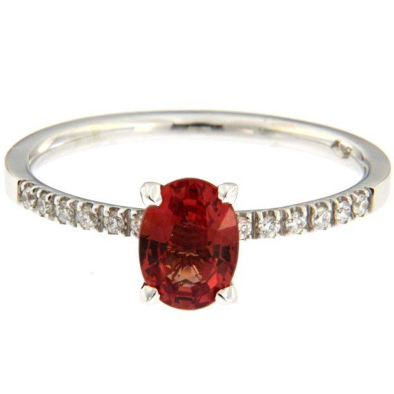 G2344-anello-oro-bianco-corindone-arancione-diamanti-brillanti-1