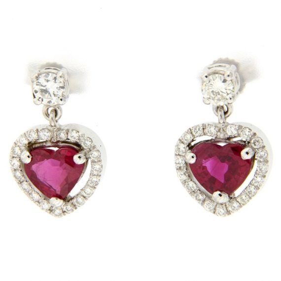 G2348-orecchini-oro-bianco-diamanti-brillanti-rubini-1