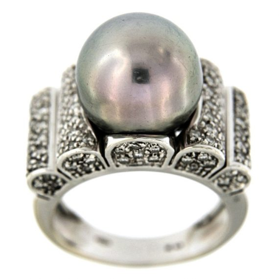 G2363-white-gold-ring-with-brilliant-cut-diamonds-and-tahiti-pearl