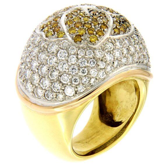 G2369-anello-oro-bianco-giallo-brillanti-3