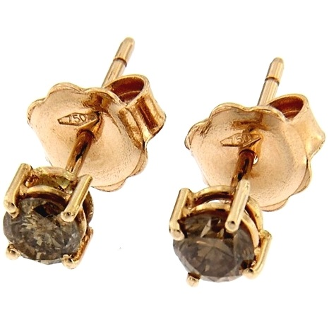 G2616-rose-gold-earrings-brilliant-cut-fancy-brown-diamonds