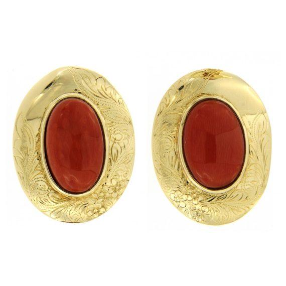 G2685-orecchini-oro-giallo-corallo